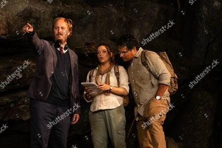 James Bobin Director, Eva Longoria as Elena and Michael Pena as Cole