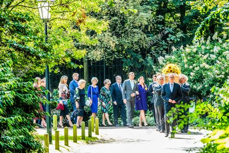 Editorial image of Funeral of Princess Christina, The Hague, The Netherlands - 22 Aug 2019