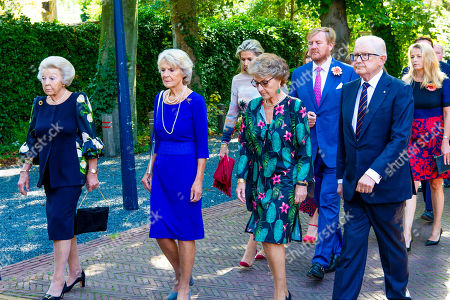 Editorial photo of Funeral of Princess Christina, The Hague, The Netherlands - 22 Aug 2019
