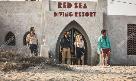 Alex Hassell as Max Rose, Alessandro Nivola as Sammy Navon, Chris Evans as Ari Levinson, Haley Bennett as Rachel Reiter and Michiel Huisman as Jacob 'Jake' Wolf