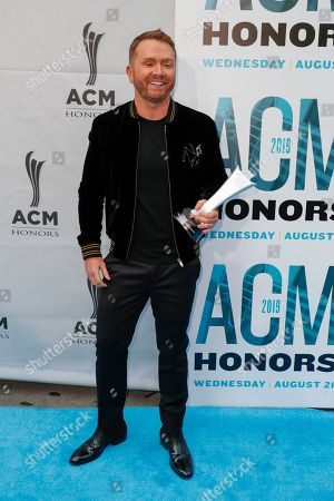 Shane McAnally arrives at the 13th Annual ACM Honors at the Ryman Auditorium on in Nashville, Tenn