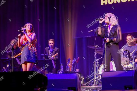 Taylor Dye, Madison Marlow, Maddie & Tae. Taylor Dye, left, and Madison Marlow of Maddie & Tae perform at the 13th Annual ACM Honors at the Ryman Auditorium on in Nashville, Tenn
