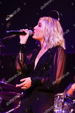 Madison Marlow of Maddie & Tae performs at the 13th Annual ACM Honors at the Ryman Auditorium on in Nashville, Tenn