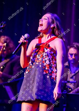 Taylor Dye of Maddie & Tae performs at the 13th Annual ACM Honors at the Ryman Auditorium on in Nashville, Tenn