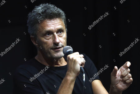 Pawel Pawlikowski speaks during a masterclass lecture within the 25th Sarajevo Film Festival in Sarajevo, Bosnia and Herzegovina, 22 August 2019. Pawel Pawlikowski was honored with the 2019 Honorary Heart of Sarajevo Award on 16 August. The 25th Sarajevo Film Festival runs from 16 to 23 August 2019 and will present 270 films.