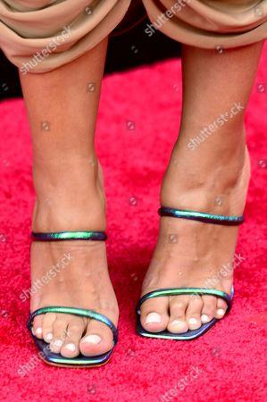 Nessa Diab, shoe detail