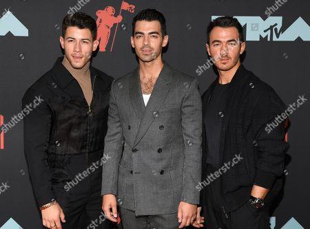 The Jonas Brothers - Nick Jonas, Joe Jonas and Kevin Jonas