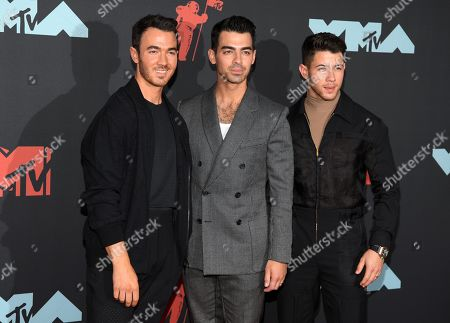 The Jonas Brothers - Kevin Jonas, Joe Jonas and Nick Jonas