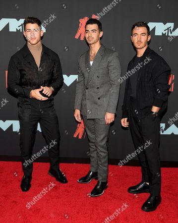 Jonas Brothers, Nick Jonas, Joe Jonas, and Kevin Jonas