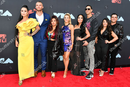 Editorial picture of MTV Video Music Awards, Arrivals, Prudential Center, New Jersey, USA - 26 Aug 2019