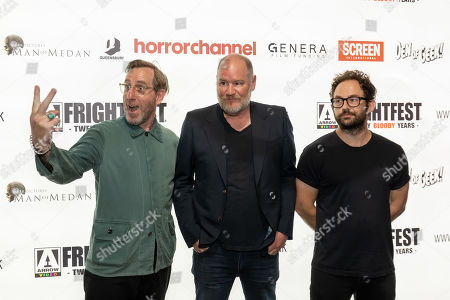 Michael Smiley, Director Ant Timpson, and Writer Toby Harvard present the opening Frightfest Film 'Come to Daddy'