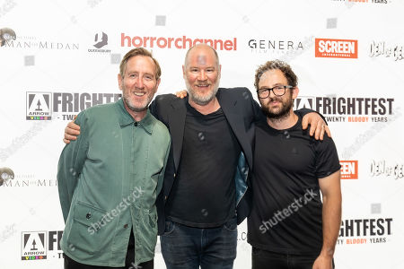 Michael Smiley, Ant Timpson and Toby Harvard present the opening Frightfest Film 'Come to Daddy'