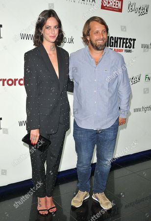 Stock Picture of Kaya Scodelario and Alexandre Aja