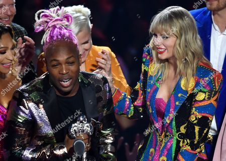 Stock Photo of Taylor Swift and Todrick Hall - Video for Good