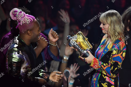 Editorial picture of MTV Video Music Awards, Show, Prudential Center, New Jersey, USA - 26 Aug 2019