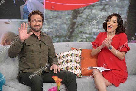 Gerard Butler and Karla Martinez