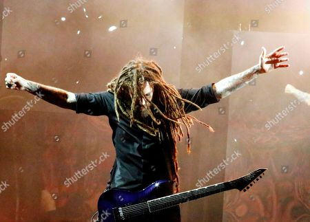 Editorial image of Korn and Alice in Chains in concert at Ruoff Home Mortgage Music Center, Noblesville, USA - 20 Aug 2019