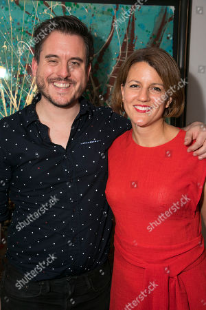 Michael Longhurst (Artistic Director) and Henny Finch (Executive Director)
