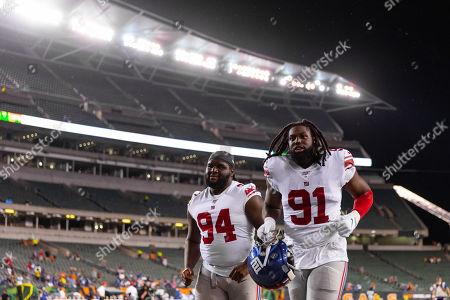 Editorial picture of NFL Giants vs Bengals, Cincinnati, USA - 22 Aug 2019