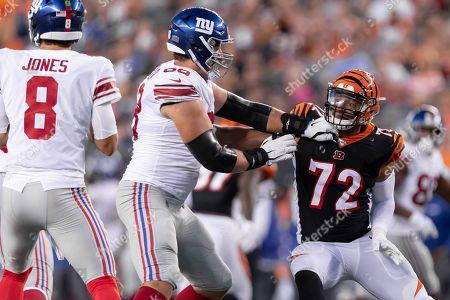 Editorial image of NFL Giants vs Bengals, Cincinnati, USA - 22 Aug 2019