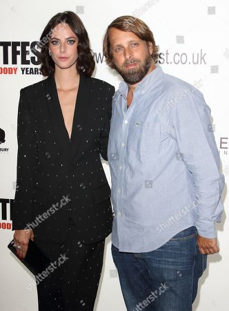 Stock Photo of Alexandre Aja and Kaya Scodelario