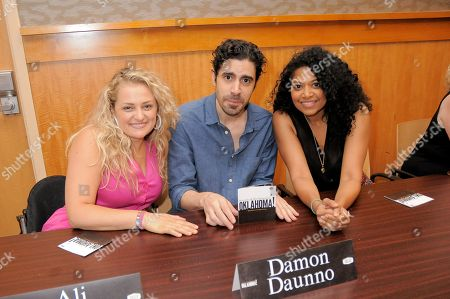 Ali Stroker, Damon Daunno and Rebecca Naomi Jones