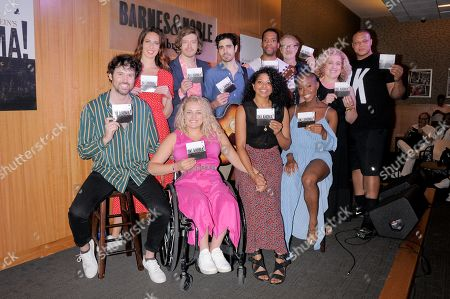 Mallory Portnoy, Patrick Vaill, Damon Daunno, Anthony Cason, Mitch Tebo, Mary Testa, Will Mann, James Davis, Ali Stroker, Rebecca Naomi Jones and Gabrielle Hamilton