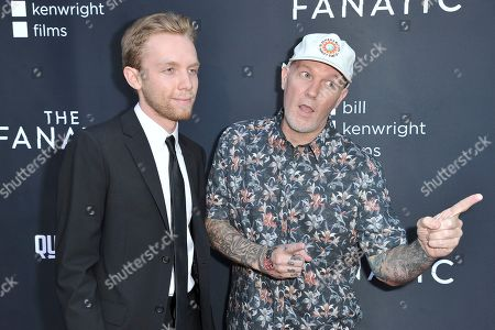 "Dallas Durst, Fred Durst. Dallas Durst, left, and Fred Durst attend the LA premiere of ""The Fanatic"" at the Egyptian Theatre, in Los Angeles"