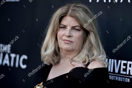 """Stock Picture of Kirstie Alley attends the LA premiere of """"The Fanatic"""" at the Egyptian Theatre, in Los Angeles"""