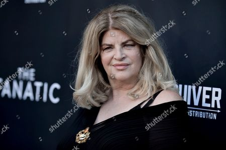 """Stock Image of Kirstie Alley attends the LA premiere of """"The Fanatic"""" at the Egyptian Theatre, in Los Angeles"""