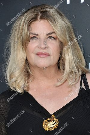 """Stock Photo of Kirstie Alley attends the LA premiere of """"The Fanatic"""" at the Egyptian Theatre, in Los Angeles"""