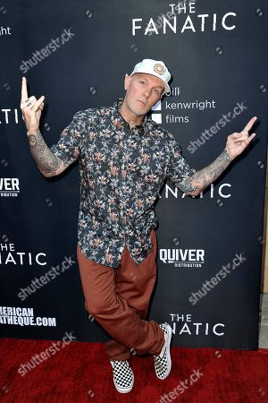"Fred Durst attends the LA premiere of ""The Fanatic"" at the Egyptian Theatre, in Los Angeles"