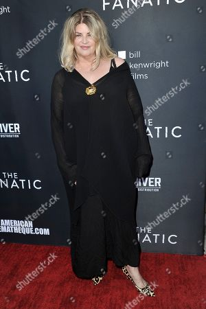 """Kirstie Alley attends the LA premiere of """"The Fanatic"""" at the Egyptian Theatre, in Los Angeles"""