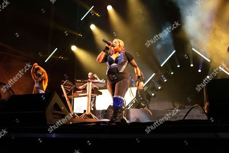 Tionne ââ?¬Å?T-bozââ?¬ÂÂ? Watkins with TLC performs live at Austin 360 Amphitheater, Circuit of The Americas. Austin, Texas
