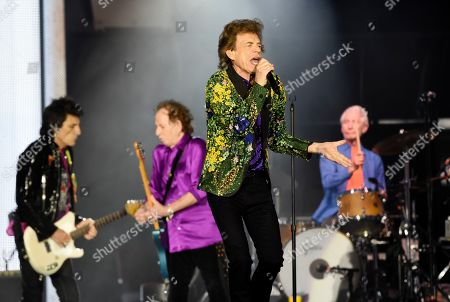 Editorial picture of The Rolling Stones - , CA, Pasadena, USA - 22 Aug 2019
