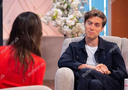 Christine Lampard and Jack Farthing