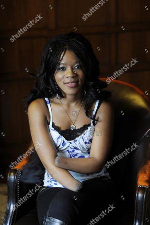 Editorial photo of Mariatu Kamara, author of 'Bite of the Mango', London, Britain - 10 Nov 2009