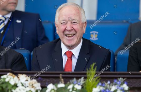 Kilmarnock v Aberdeen. former scotland manager Craig Brown