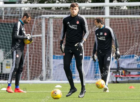 Kilmarnock v Aberdeen. Aberdeen keeper Sam Jackson