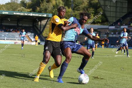 Theo Robinson, Anthony Stewart Wycombe Wanderers v Southend United.  EFL 1