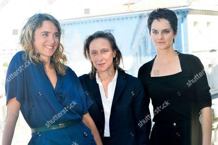 Adele Haenel, Celine Sciamma, Noemie Merlant