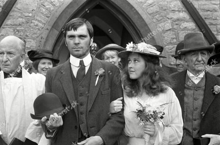 Jane Carr, as Sophy Daws, and Keith Drinkel, as Harvey Witlow