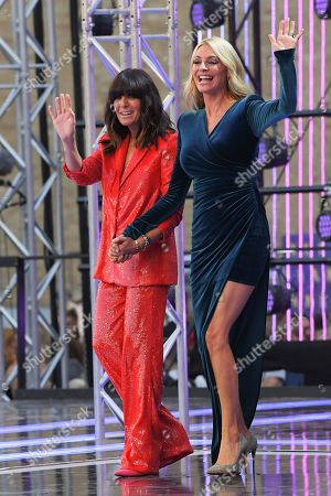 Stock Photo of Claudia Winkleman and Tess Daly
