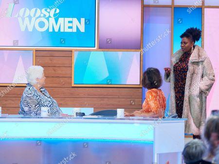 Pam St Clement, Brenda Edwards and Saira Khan
