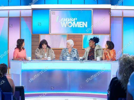 Andrea McLean, Coleen Nolan, Pam St Clement, Brenda Edwards and Saira Khan