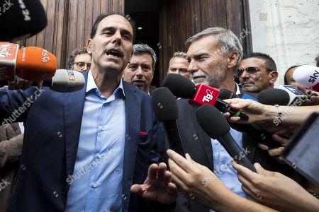 Editorial image of Italian politics, M5S-PD government talks, Rome, Italy - 23 Aug 2019