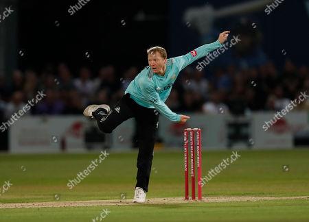 Editorial photo of Kent Spitfires vs Surrey, Vitality Blast T20, Cricket, The Spitfire Ground, Canterbury, Kent, United Kingdom - 23 Aug 2019