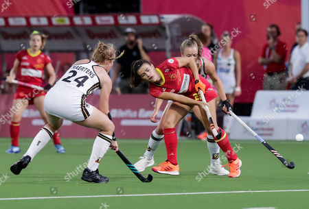 Editorial picture of EuroHockey in Antwerp 2019 women's semi-final Spain vs Germany, Belgium - 23 Aug 2019