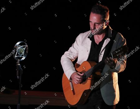 Editorial photo of Jorge Drexler and Rocio Marquez at VI Flamenco on Fire Festival, Pamplona, Spain - 23 Aug 2019