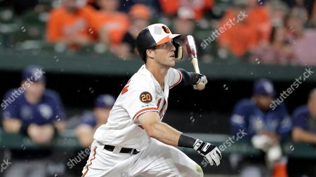 Editorial picture of Orioles Baseball, Baltimore, USA - 22 Aug 2019
